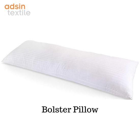 Adsin Bolster Pillows Virgin HollowFibre Nursing Maternity Pregnancy Body Back Support