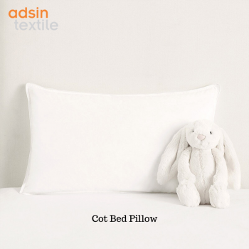 Cot Bed Pillow Hollow fibre Nursery Baby Toddler Junior New Pillows Anti Allergy