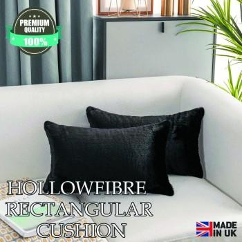 "Hollowfibre Oblong / Rectangular Cushion 12"" x 18"""