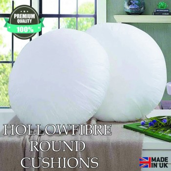"""Hollowfibre Round Cushions 16"""" Inch"""